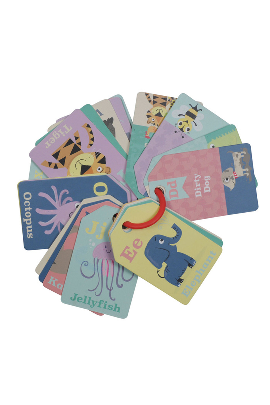 Schylling ABC Flash Cards - Front Full Image