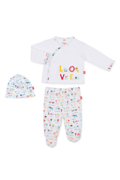 Magnetic Me ABC Love Kimono Set - Product List Image