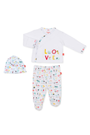 Magnetic Me ABC Love Kimono Set - Product Mini Image