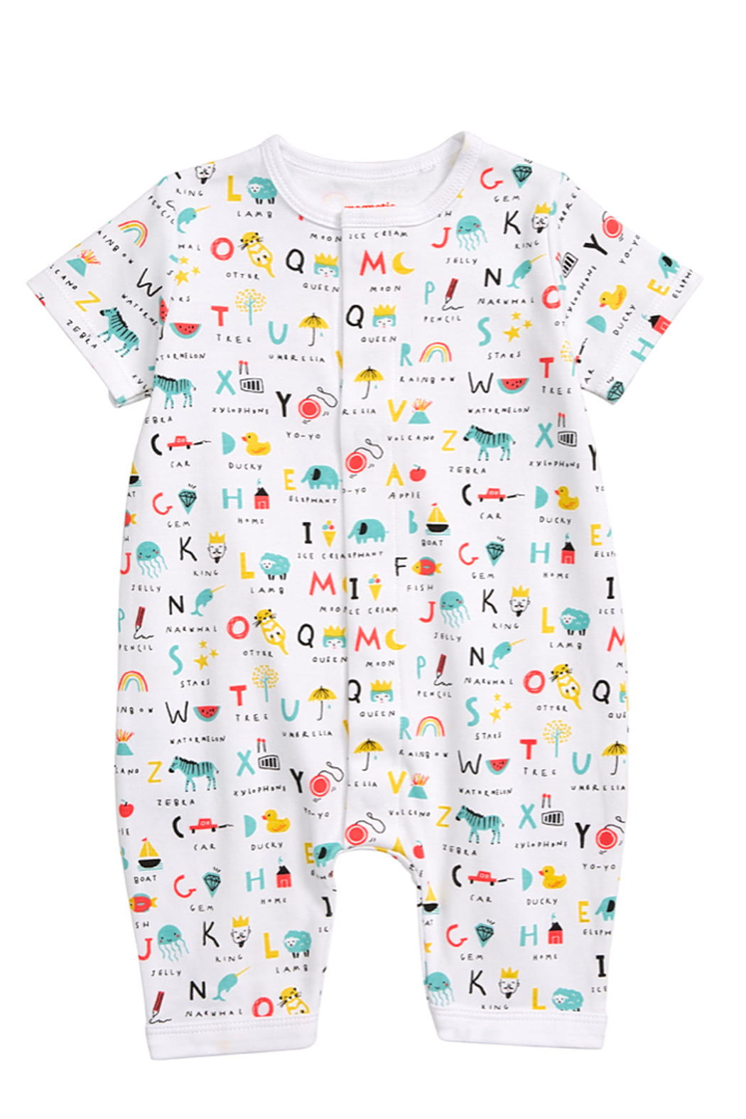 Magnetic Me ABC Love Romper - Main Image