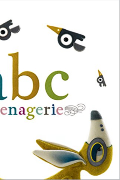 Compendium Books ABC menagerie book - Product List Image
