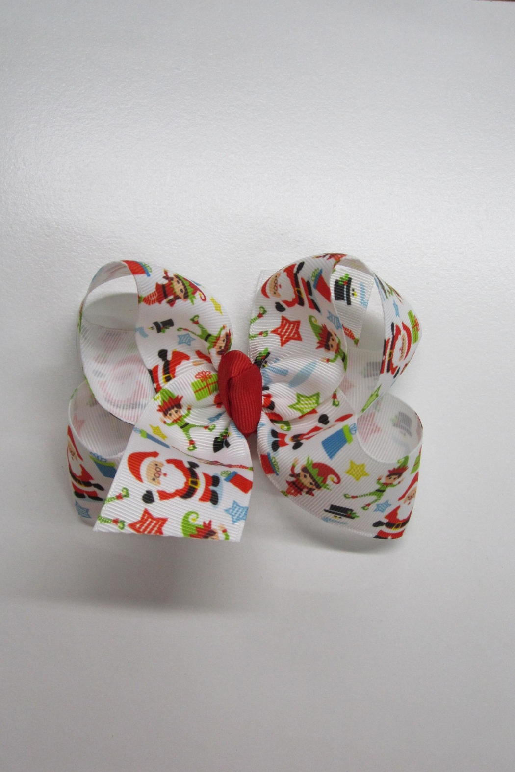 ABC Designs Hand-Tied Hair Bow - Front Cropped Image