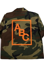 ABC Designs Kids Camo Jacket - Front full body