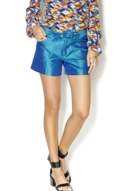 By Smith Soho Teal Shorts - Front cropped