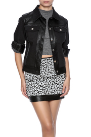 Abeauty by BNB Faux Leather Trim Jacket - Product Mini Image