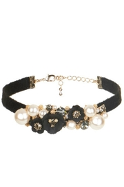 Coco + Carmen Abella Embellished Choker - Front cropped
