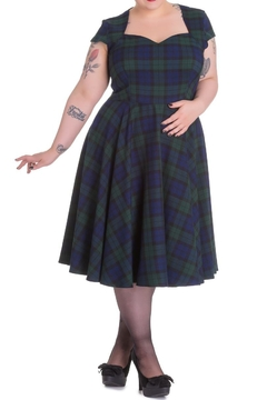 Hell Bunny Aberdeen Tartan - Alternate List Image