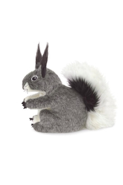 Folkmanis Abert's Squirrel Hand Puppet - Side cropped