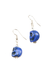 GinasOriginalAZ Blue Skull Earrings - Product Mini Image