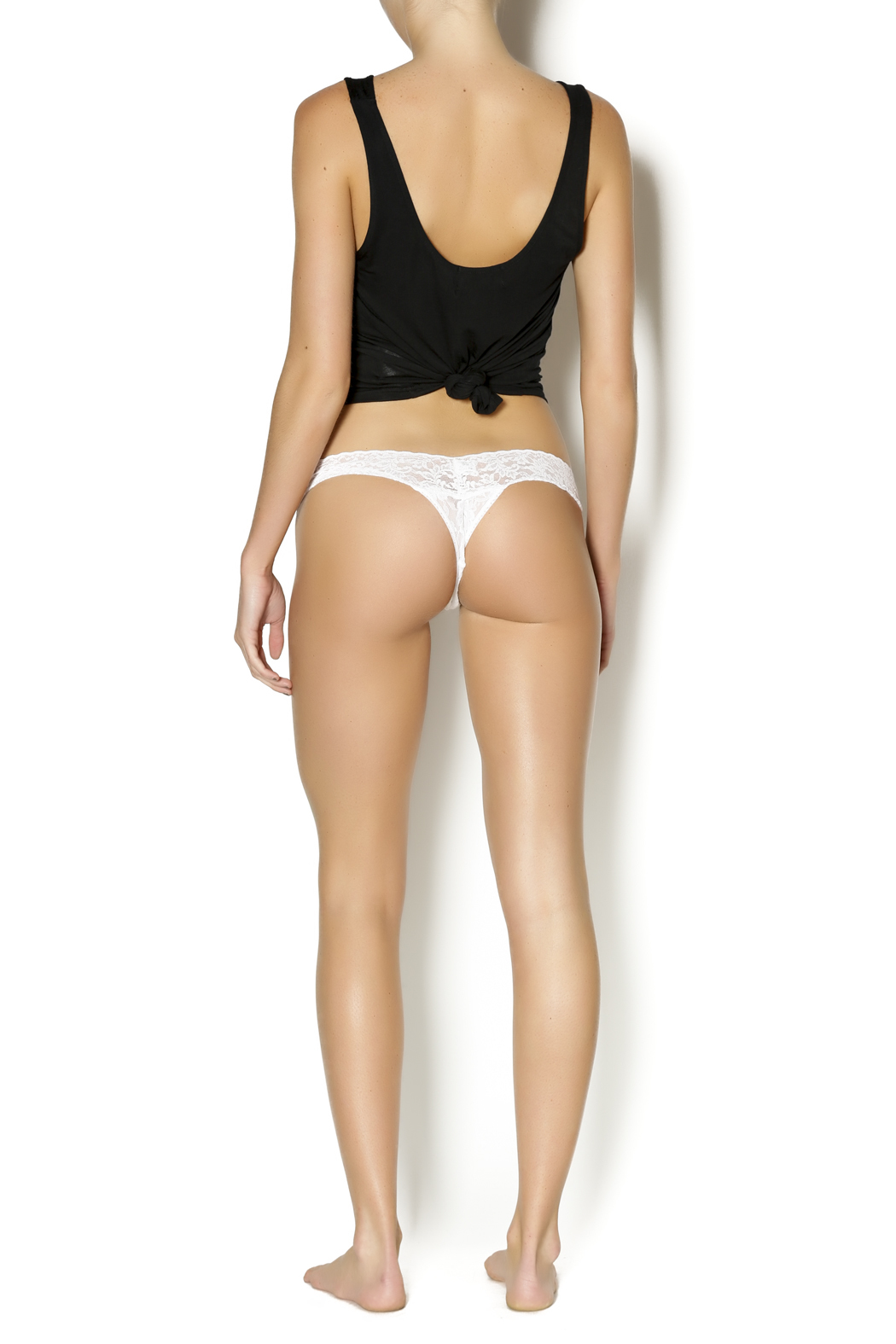 Hanky Panky Mrs. Low-Rise Thong - Side Cropped Image