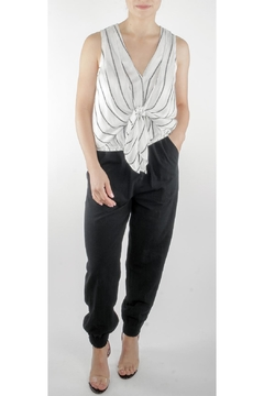 Ark & Co. Abigail Front-Tie Top - Product List Image