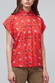 Pink Poodle Boutique Abinaya Dog Shirt - Front cropped