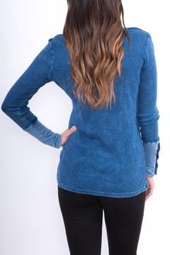 Shoptiques Product: Blue Thermal Top