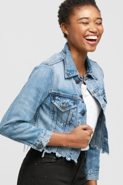 Able Cropped Jean Jacket - Product Mini Image