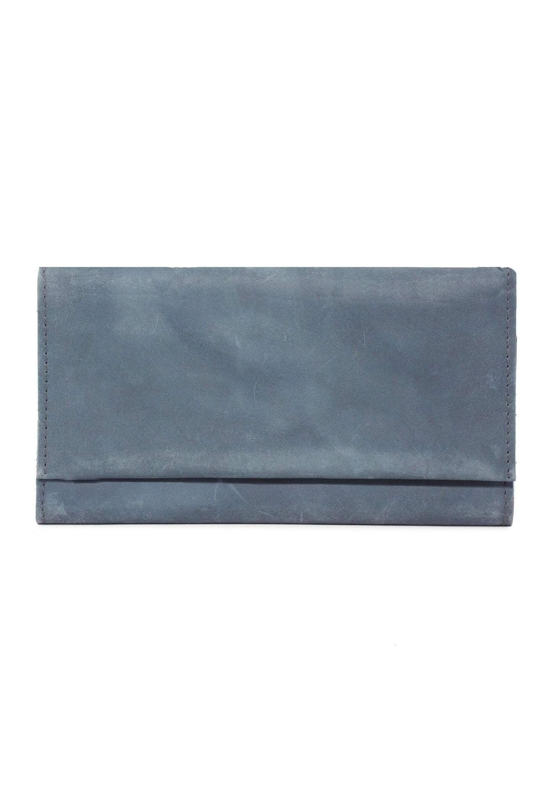 Able Debre Wallet Denim/blue - Front Full Image