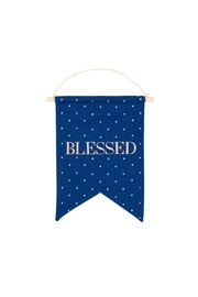 About Face Designs Blessed Banner - Front cropped
