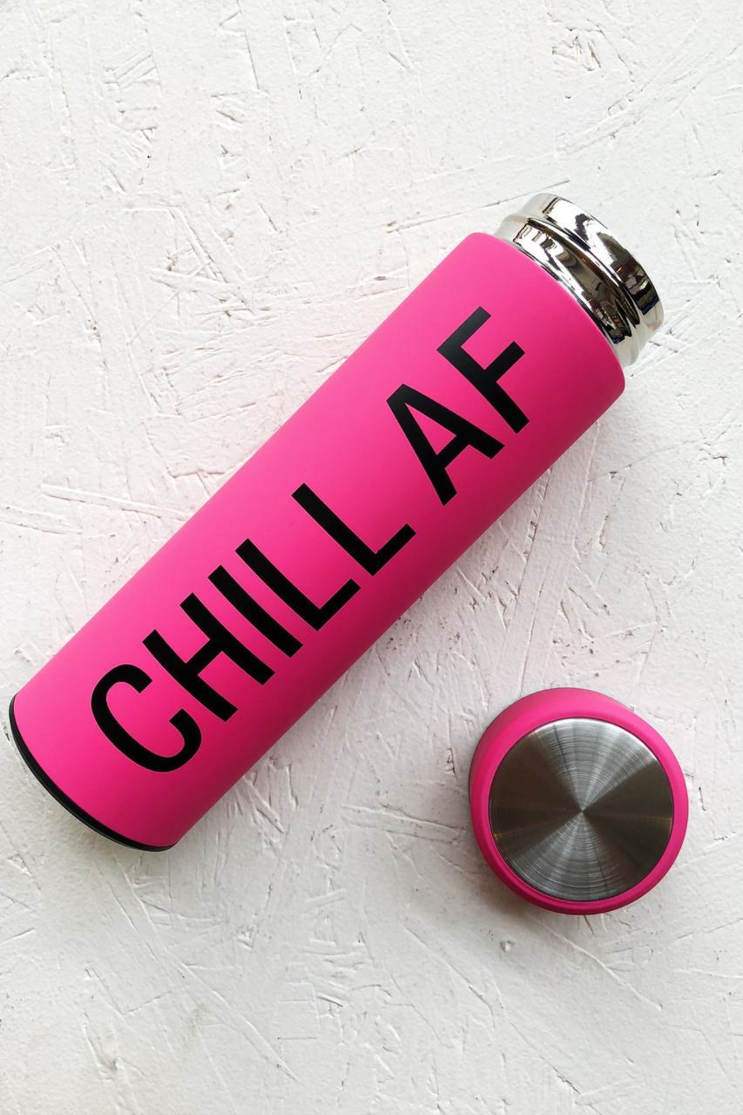 About Face Designs Chill Af Thermos - Main Image