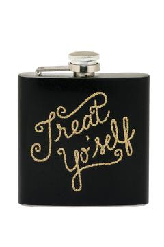 About Face Designs Golden Flaked Enameled Flask - Alternate List Image