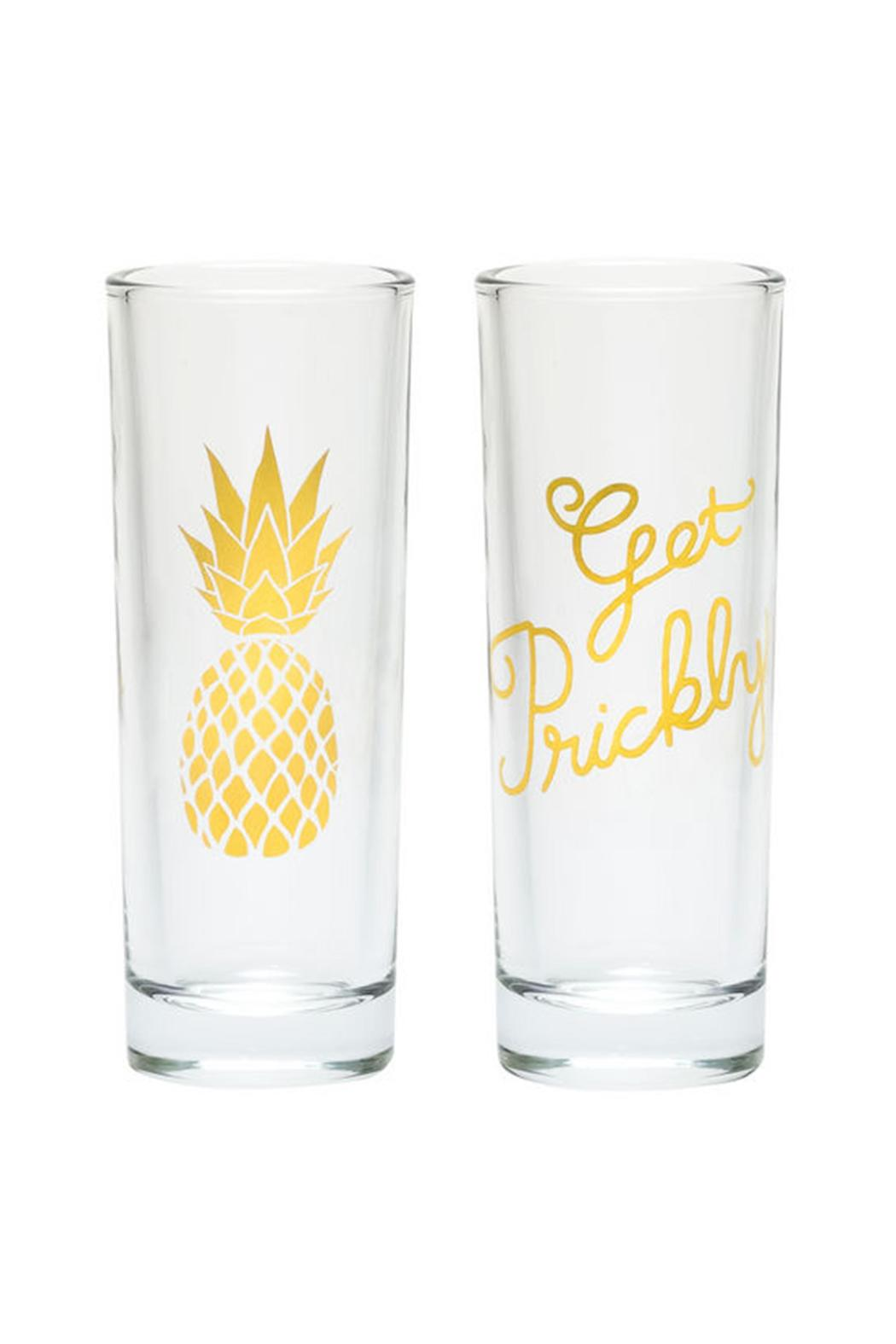 About Face Designs Pineapple Shot Glasses - Main Image
