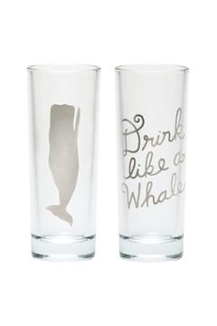 Shoptiques Product: Whale Shot Glasses