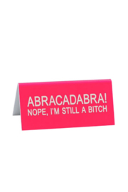 About Face Designs Abracadabra! Sign - Product Mini Image
