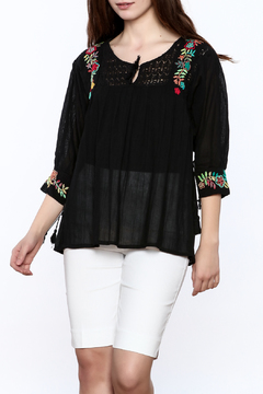Shoptiques Product: Franco Embroidered Blouse