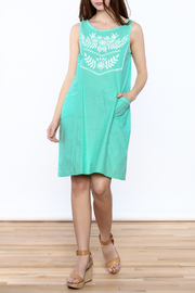 Abrazo Style Maria Embroidered Dress - Front full body
