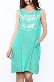 Abrazo Style Maria Embroidered Dress - Front cropped
