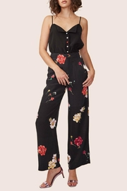 ABS Allen Schwartz Floral High-Waisted Pants - Front cropped