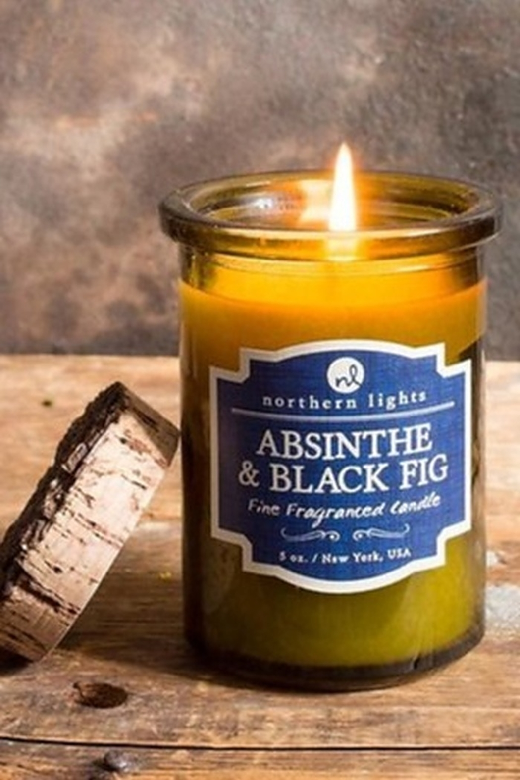 Phinas Absinthe and Black Fig Candle - Main Image