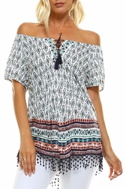 Absolutely Famous Hanky Hem Top - Front cropped