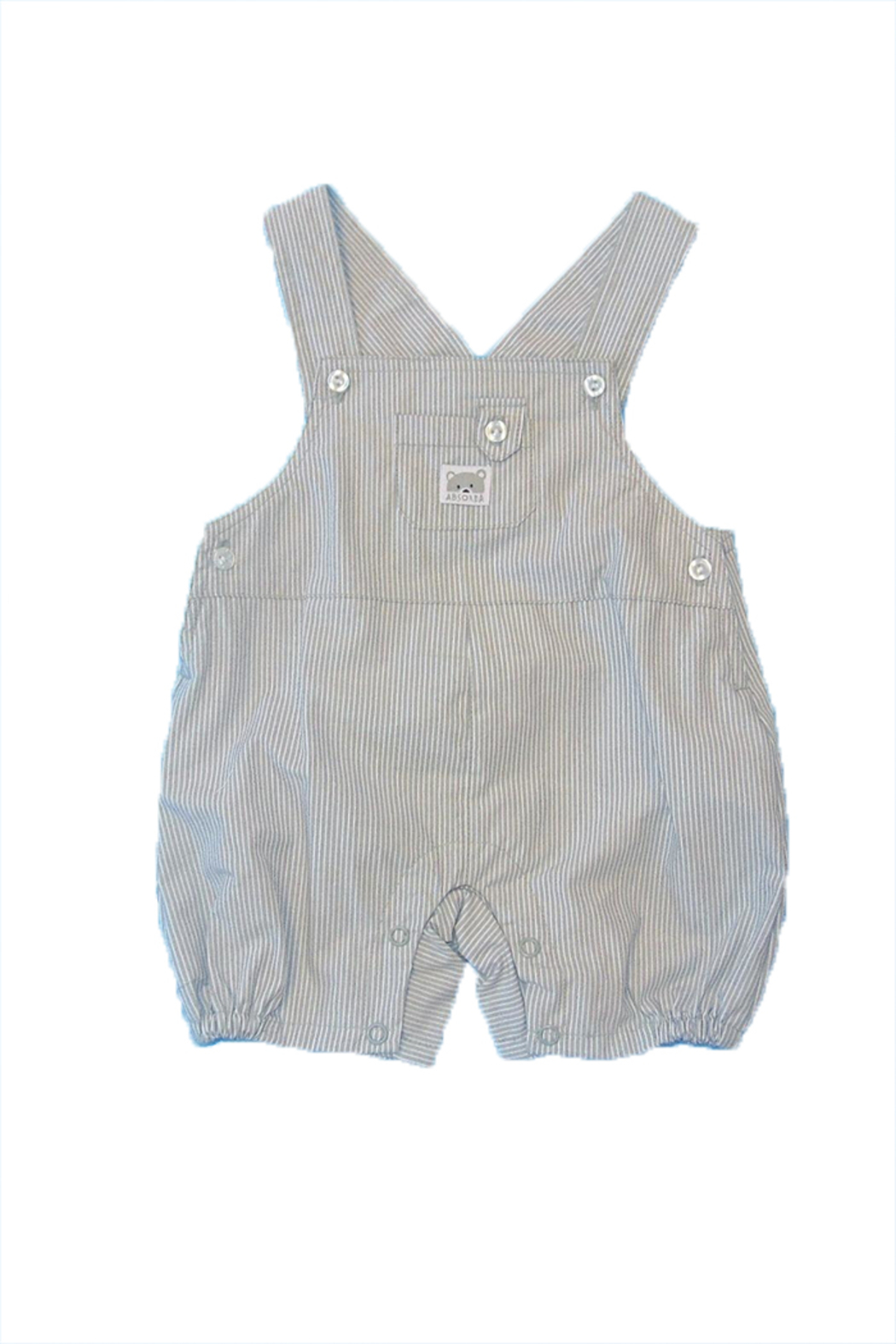 Absorba Boy Dungaree Set - Front Full Image