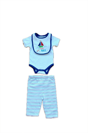 Absorba 3 Piece Baby Set - Front cropped
