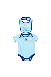 Absorba 3 Piece Baby Set - Front full body