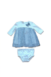 Absorba Bow Dress Set - Front cropped