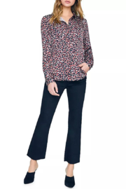 Sanctuary Abstract Animal-Print Blouse - Side cropped