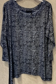 Nally & Millie Abstract Asymmetrical Tunic - Product Mini Image