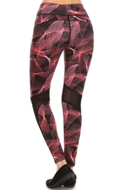 New Mix Abstract Athletic Pant - Side cropped