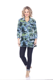 Parsley & Sage Abstract Button-Up Tunic - Product Mini Image