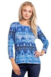 Katina Marie Abstract Comfy Top - Product Mini Image