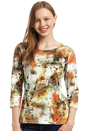 Katina Marie Abstract Cotton Tee - Product Mini Image