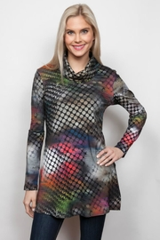 Sno Skins Abstract Cowl Tunic - Product Mini Image