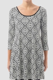 Joseph Ribkoff Abstract detail tunic - Product Mini Image