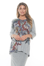 Inoah Abstract Flare Top - Product Mini Image