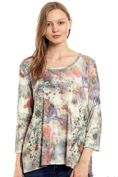 Katina Marie Abstract Flare Top - Alternate List Image