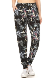 New Mix Abstract Floral Jogger - Product Mini Image