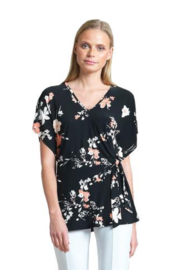 Clara Sunwoo Abstract Floral Print Tunic - Product Mini Image