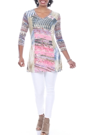 Parsley & Sage Abstract Florals Tunic - Product Mini Image