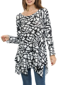 Cubism Abstract Knit Tunic - Alternate List Image