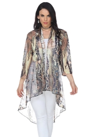 Aris A Abstract Long Cardigan - Product Mini Image